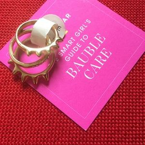 NWOT BAUBLE BAR STACKABLE RINGS